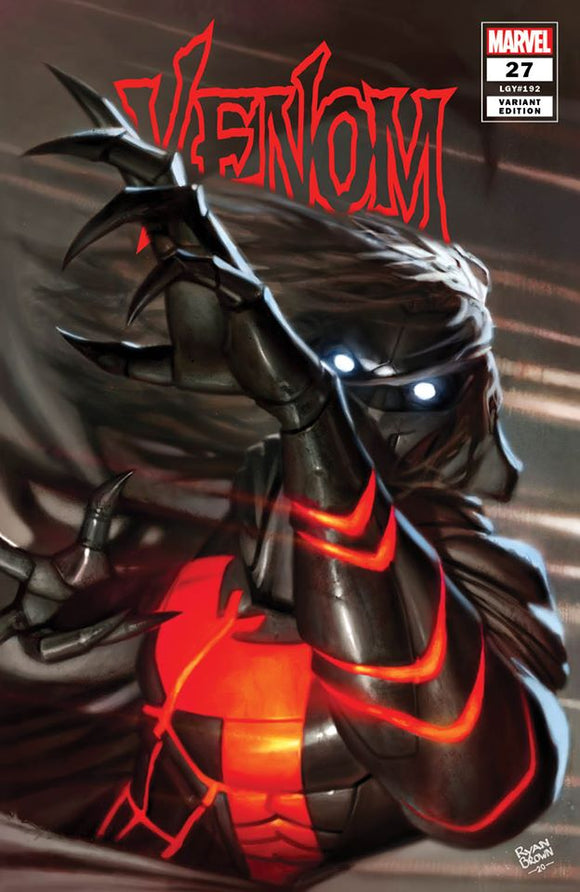 VENOM #27 RYAN BROWN TRADE