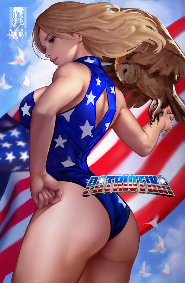 PATRIOTIKA #1 COMIC CONNECTION EXCLUSIVE ARTGERM HOMAGE OPTIONS