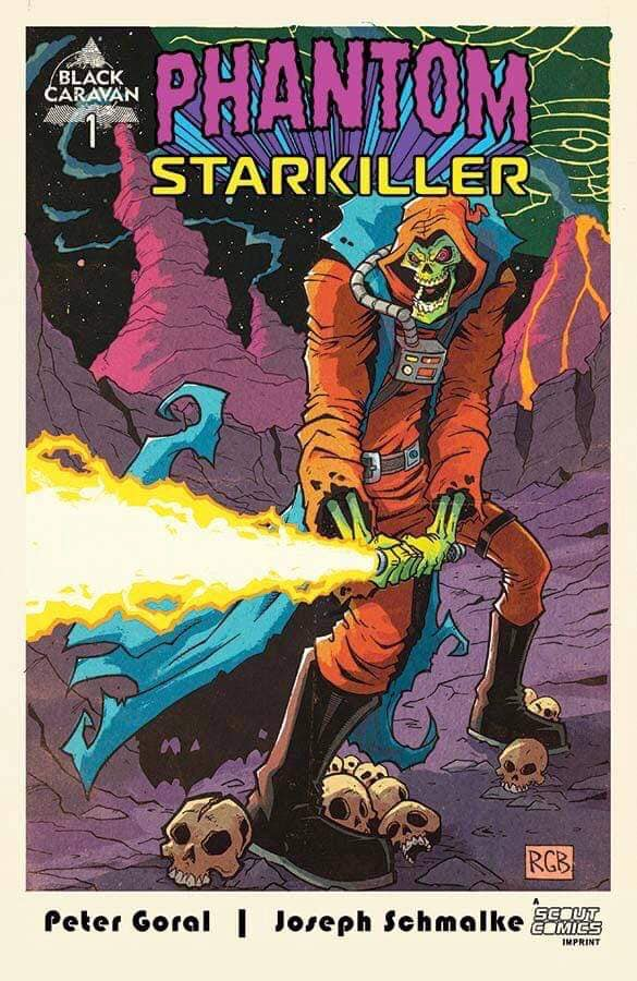 PHANTOM STARKILLER #1  RYAN BROWNE LTD 600