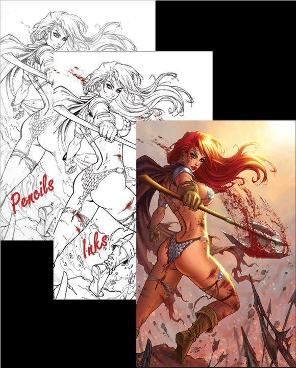 RED SONJA #19 DAWN MCTEIGUE OPTIONS
