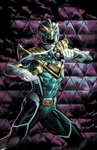 MIGHTY MORPHIN POWER RANGERS #55 GLOW IN THE DARK COVER