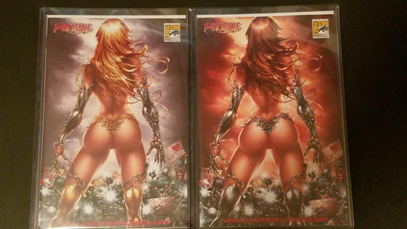 WITCHBLADE SDCC JAY COMPANY EXCLUSIVE TYNDALL SET