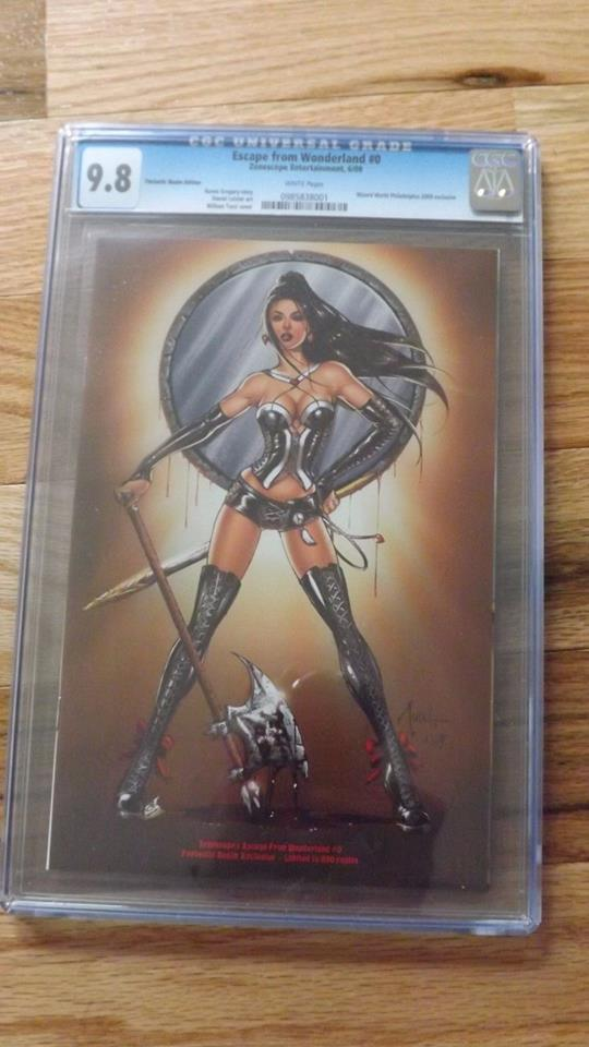 GRIMM FAIRY TALES ESCAPE FROM WONDERLAND #0 FANTASTIC REALM 9.8 CGC