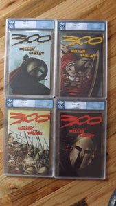 300 GRADED SLAB SET #2-5 DARK HORSE FRANK MILLER ART/STORY PGX