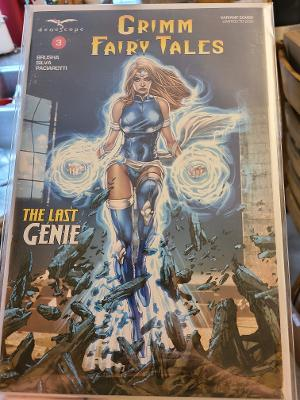 GRIMM FAIRY TALES THE LAST GENIE VARIANT COVER LTD 200 NM