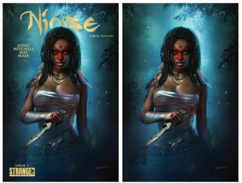 NIOBE SHE IS DEATH SHANNON MAER SET NM