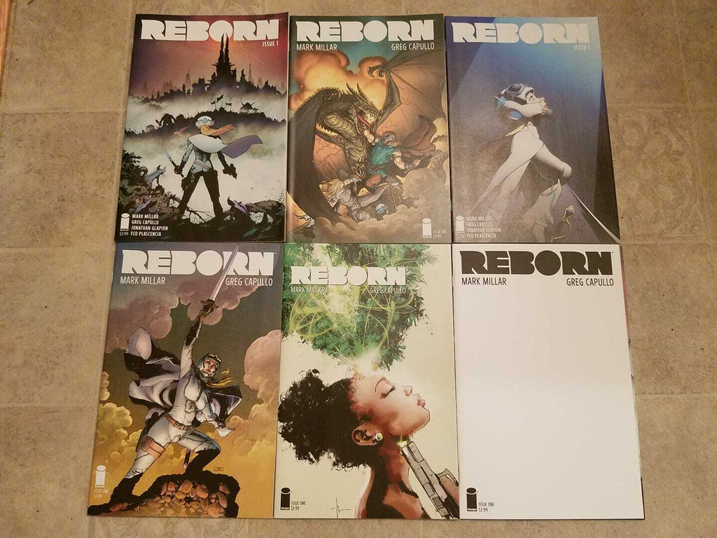 REBORN #1 COMPLETE SET OF 6 NM