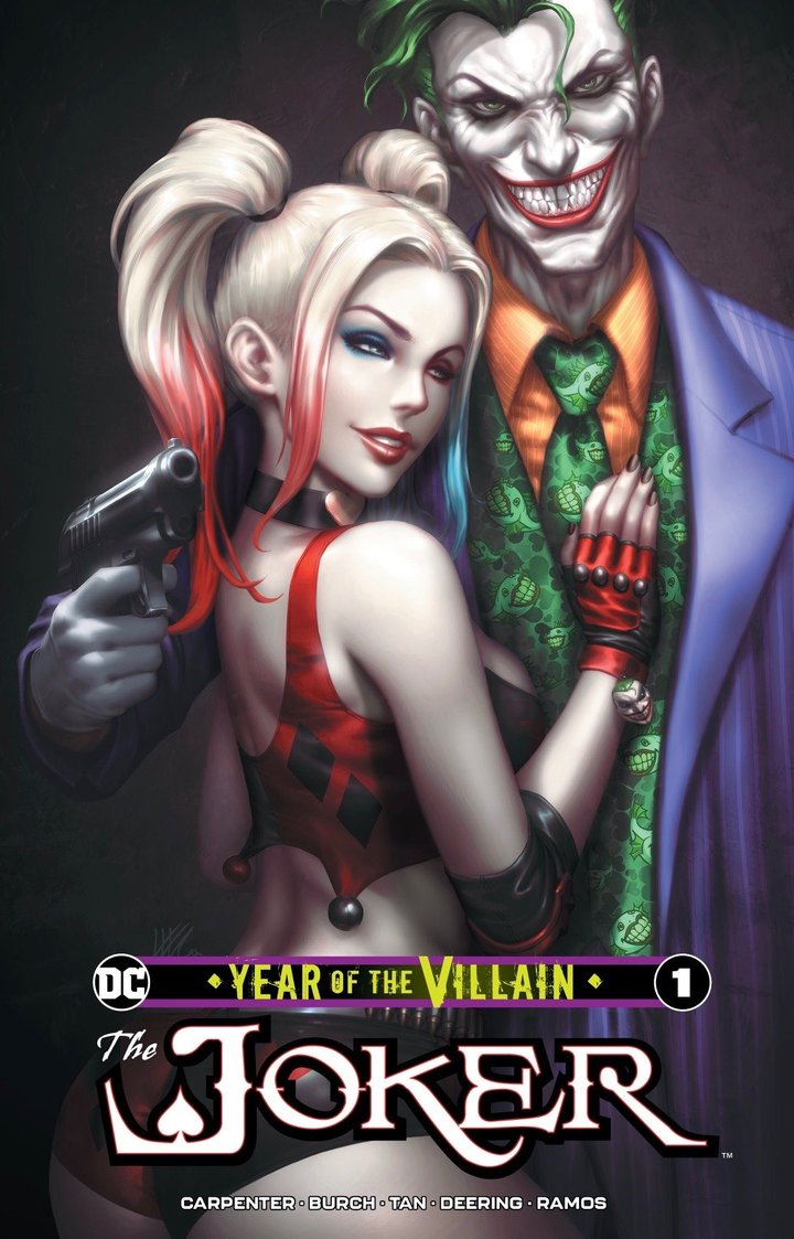 "JOKER YEAR OF THE VILLIAN #1 KENDRICK ""KUNKKA"" LIM NM"