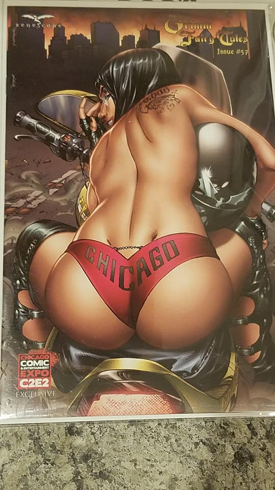GRIMM FAIRY TALES #51 C2E2 EBAS EXCLUSIVE NM