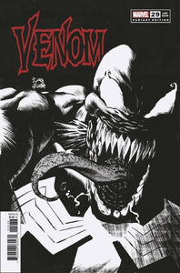VENOM #29 RATIO 1:25 RYAN STEGMAN SKETCH INCENTIVE VARIANT