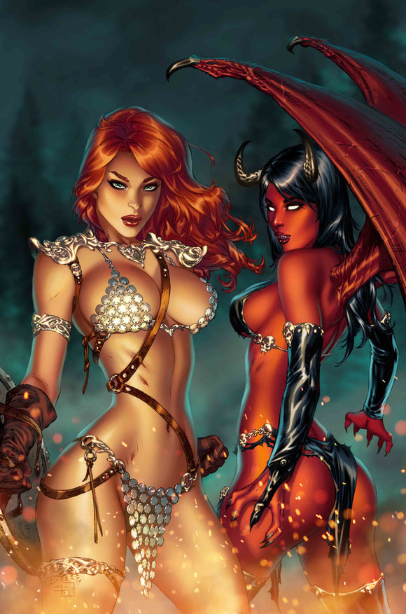 RED SONJA AGE OF CHAOS #1 EBAS COMIC CONNECTION EXCLUSIVE