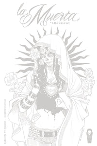 LA MUERTA #1 DECENT RICHARD ORTIZ INCENTIVE EDITION