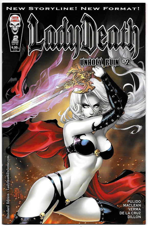 LADY DEATH UNHOLY RUIN STANDARD