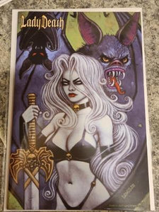 LADY DEATH PINUPS #1 SCOTT LEWIS RETURNING EDITION