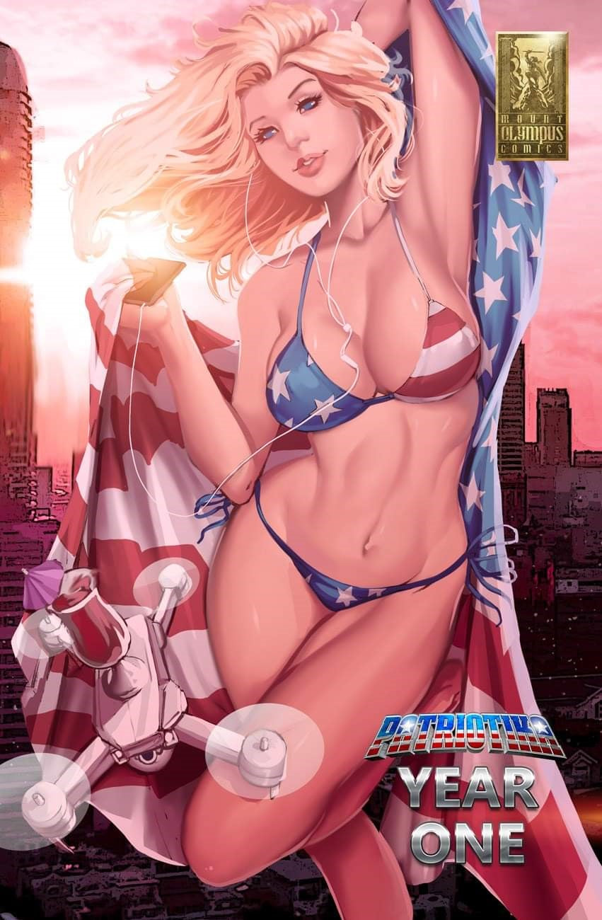 PATRIOTIKA YEAR ONE PHOENIX COMIC CON DEBALFO EXCLUSIVE LTD 75