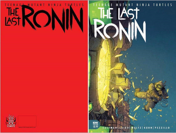 TMNT LAST RONIN #1 BEN BISHOP LIMITED EDTION