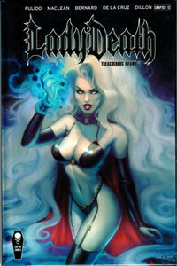Lady Death Treacherous Infamy Hard Cover Edition Sun Khamunaki.
