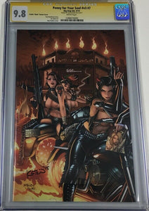 Penny For Your Soul #7 Naughty Exclusive Signed Alex Kotkin CGC 9.8 SS Ltd 100