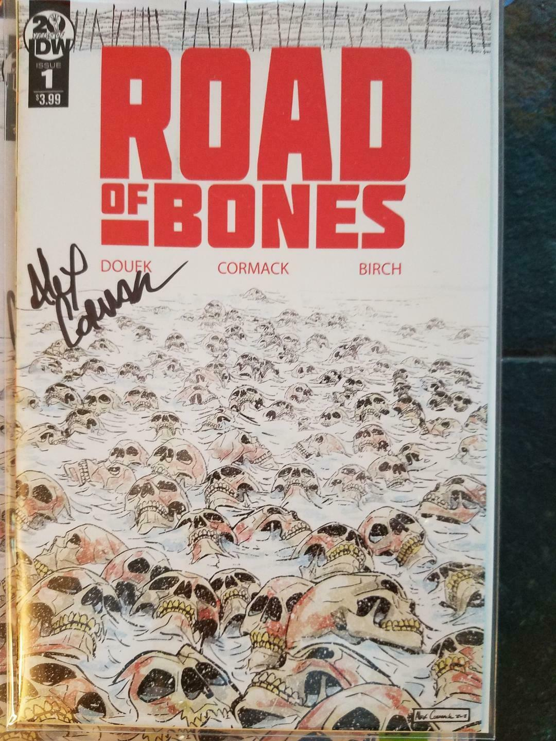 ROAD TO BONES #1 SIGNED ALEX CORMACK NM-