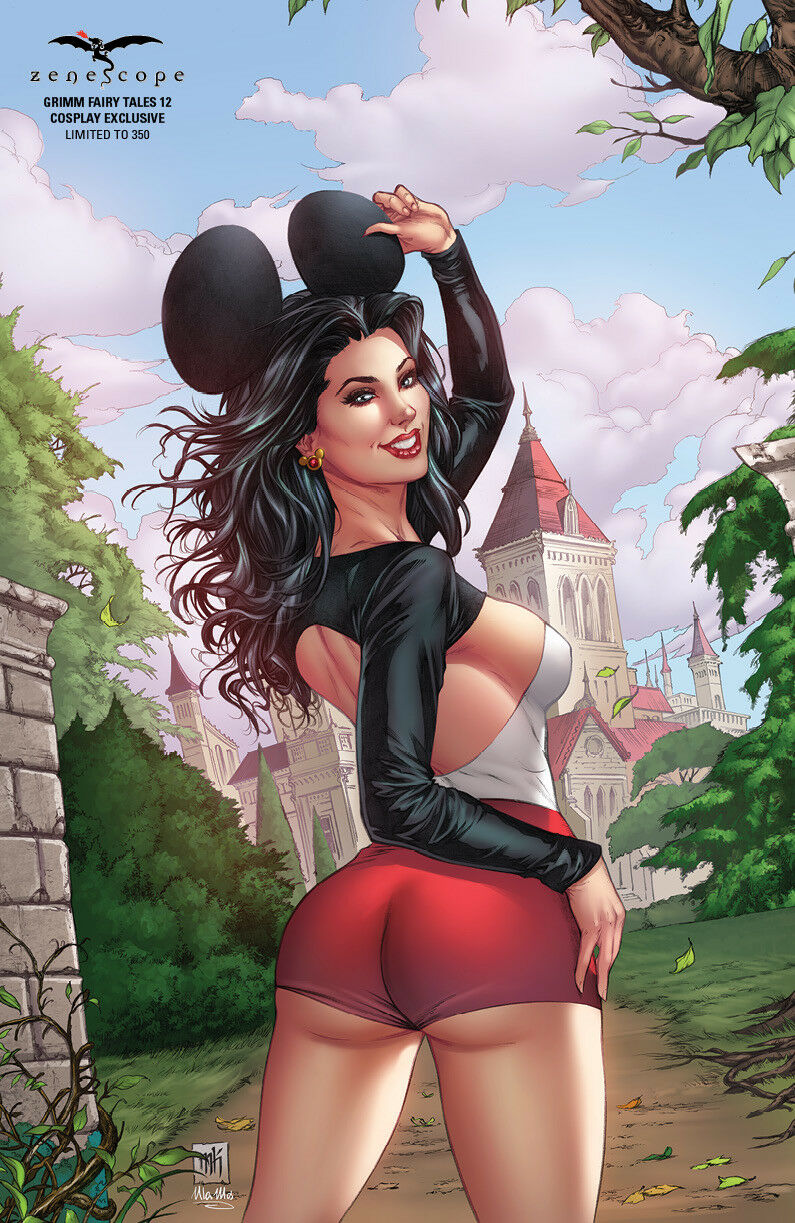 GRIMM FAIRY TALES 12 COSPLAY EXCLUSIVE LTD 350 KROME NM