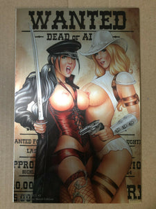 NOTTI & NYCE #3 BOUNTY HUNTERS MONTE MOORE TOPLESS METAL LTD 15