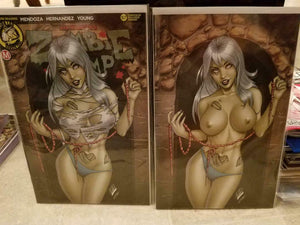ZOMBIE TRAMP #57 RYAN KINCAID EXCLUSIVE VARIANT SET NM