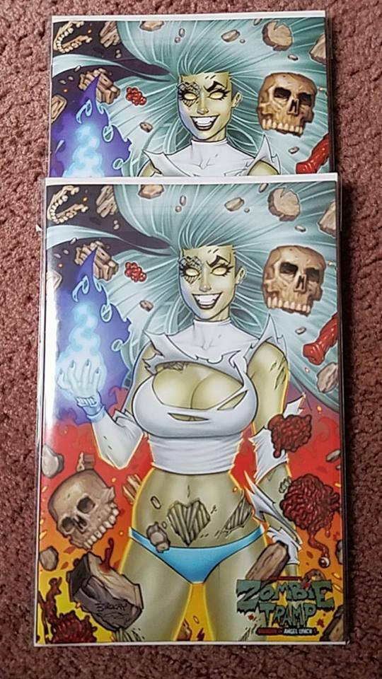 ZOMBIE TRAMP ORIGIN OF ANGEL LYNCH BILL MCKAY SET NM
