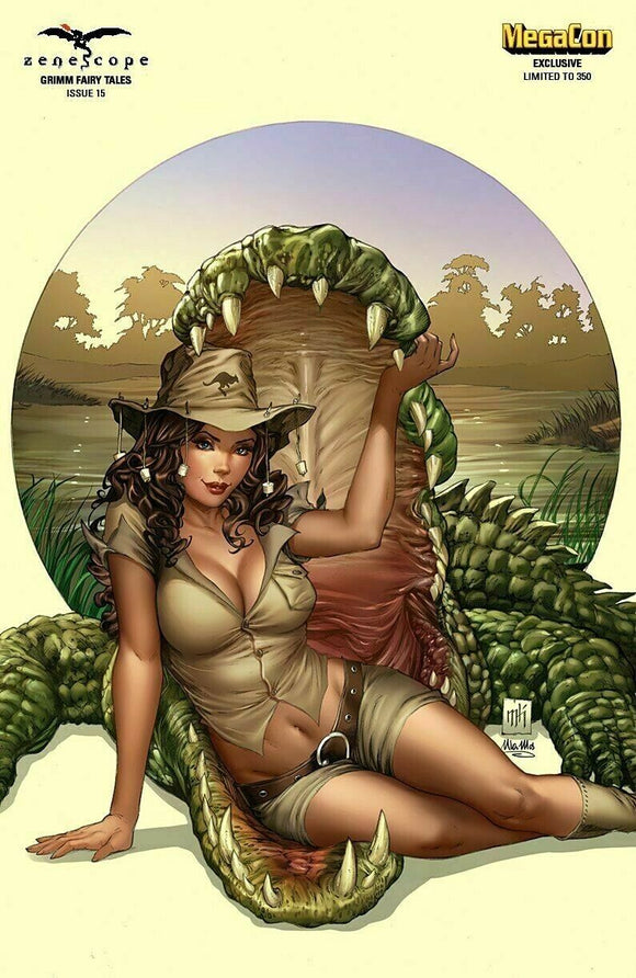 GRIMM FAIRY TALES #15 MIKE KROME MEGACON EXCLUSIVE LTD 350