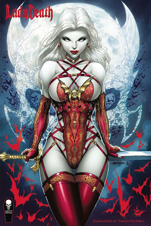 Lady Death Scorched Earth #2 Jamie Tyndall Premium Foil
