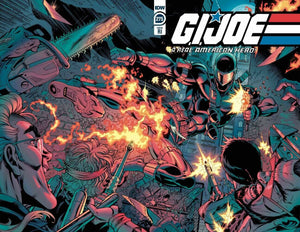 GI JOE #275 JOHN ROYLE 1:10 Wraparound Ratio Incentive Variant