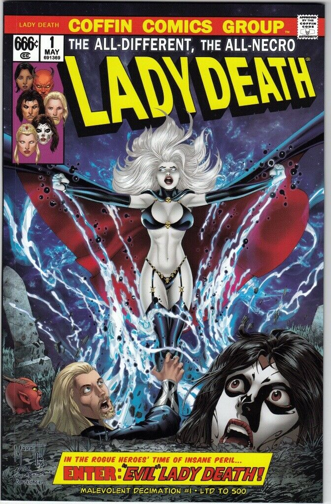 LADY DEATH MALEVOLENT DECIMATION #1 LTD 500