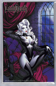 LADY DEATH MALEVOLENT DECIMATION #1 NAUGHTY THOUGHTS EDITION LTD 188 NM
