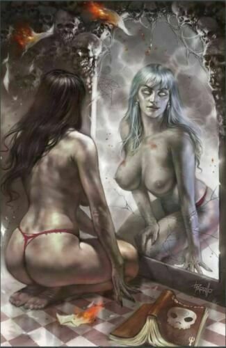 ZOMBIE TRAMP #57 LUCIO PARRILLO RISQUE VIRGIN VARIANT NM