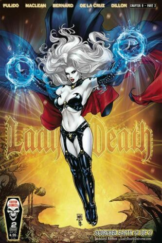 Lady Death Scorched Earth #2 Cover A Standard Edition