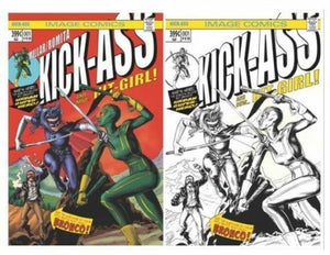 KICK-ASS #1 EXCLUSIVE RETAILERS SET MIKE ROOTH IMAGE NM