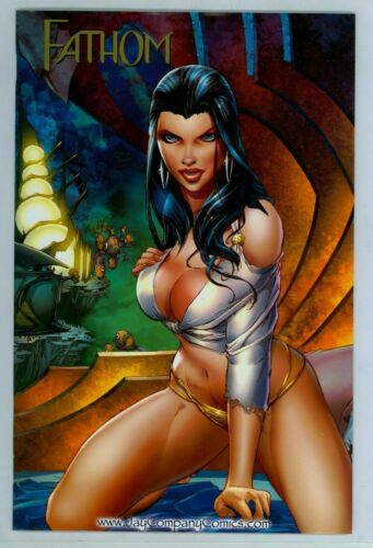 FATHOM #7 JAY CO EXCLUSIVE MICHAEL TURNER COA