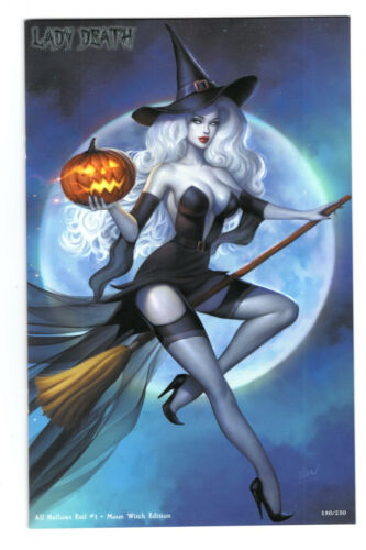 LADY DEATH ALL HALLOWS EVIL #1 MOON WITCH EDITION KHAMUNAKI OPTIONS