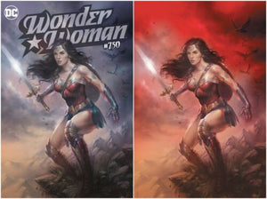 WONDER WOMAN #750 LUCIO PARRILLO SET