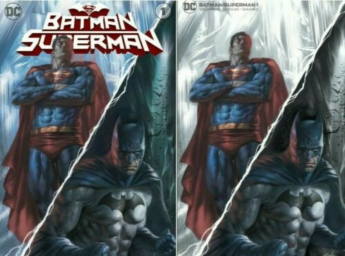 BATMAN SUPERMAN 1 LUCIO PARRILLO VARIANT SET