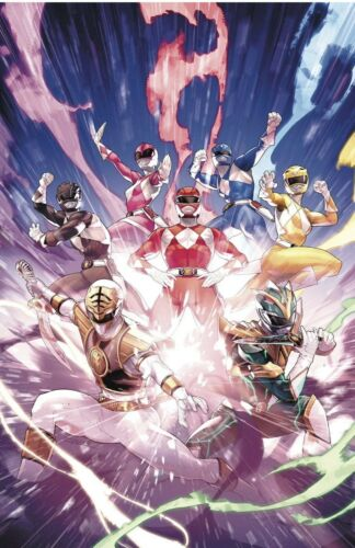 MIGHTY MORPHIN POWER RANGERS #55 JAMAL CAMPBELL 1:25 RATIO COVER
