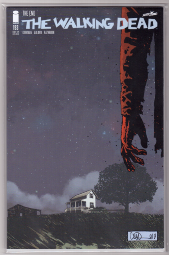 THE WALKING DEAD #193 SDCC FINAL ISSUE FIRST PRINT