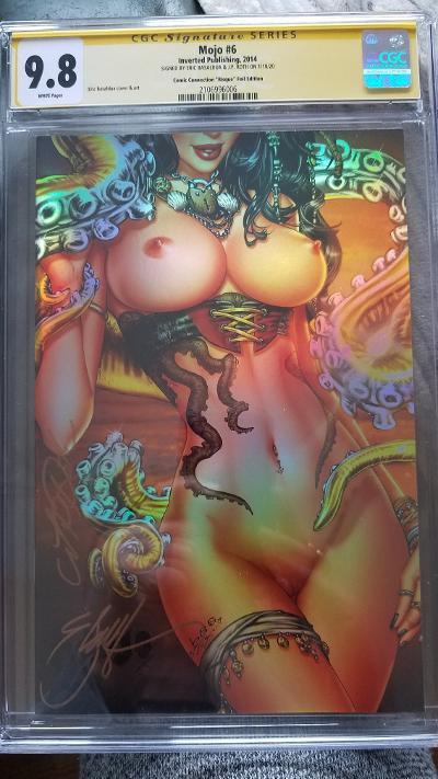MOJO #6 EBAS CHROME LTD 25 9.8 CGC SS X 2