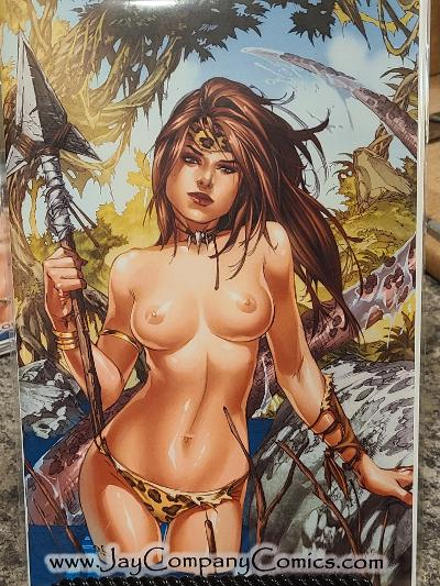CAVEWOMAN #1 SPECIAL JAY CO EXCLUSIVE EBAS RARE