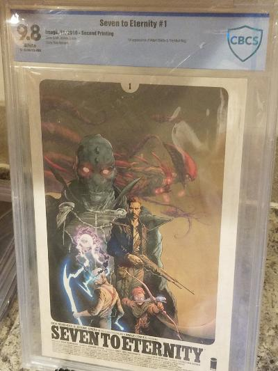 SEVEN TO ETERNITY #1 FIRST PRINT 9.8 CBCS