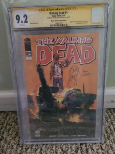WALKING DEAD #1 9.2 CGC REMARK