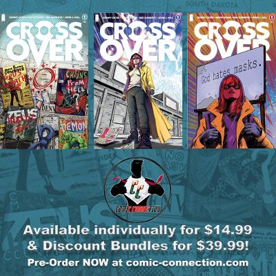 CROSSOVER #1 DONNIE CATES IMAGE COMICS COVER REVEAL BUNDLE OPTIONS