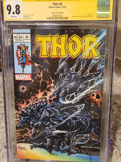 THOR #6 KYLE HOLTZ TRADE EXCLUSIVE 9.8 CGC SS