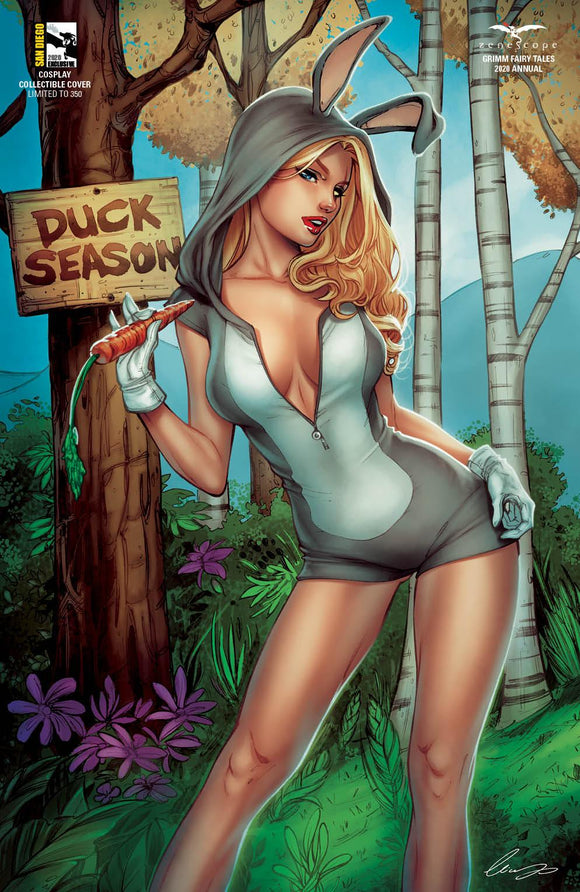 GRIMM FAIRY TALES 2020 ANNUAL LOONEY TUNES HOMAGE