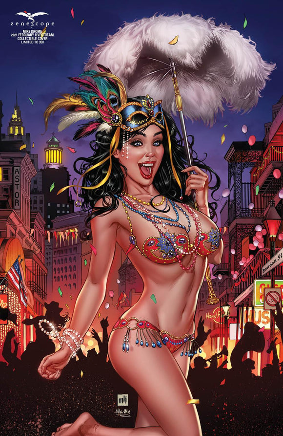 GRIMM FAIRY TALES DARKWATCHERS #1 MIKE KROME CARNIVAL EXCLUSIVE OPTIONS