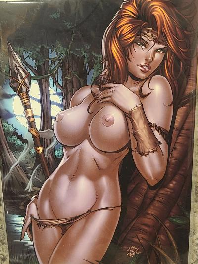 CAVEWOMAN COVER GALLERY JAY COMPANY EXCLUSIVE MIKE DEBALFO LTD 100 NM